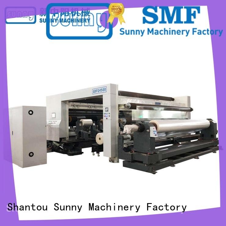 gantry rewinder slitter machine supplier bulk production