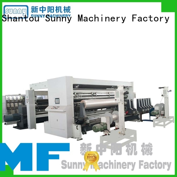 Sunny horizontal slitter rewinder machine supplier for factory
