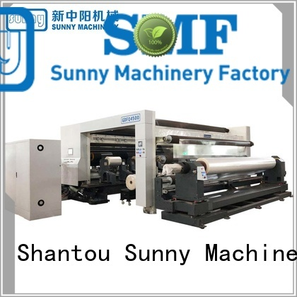 low cost slitting rewinding machine stations supplier bulk production