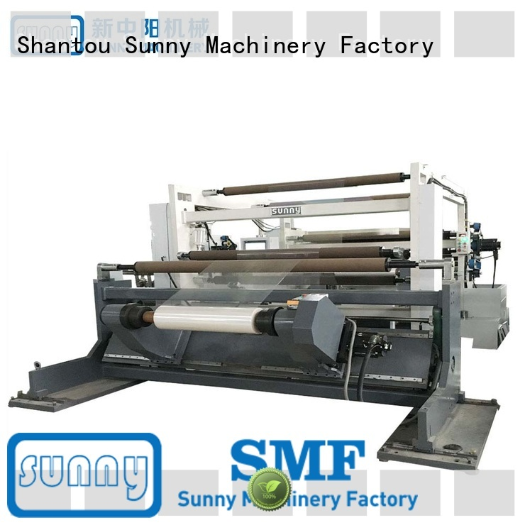 Sunny high quality rewinder slitter manufacturer for sale