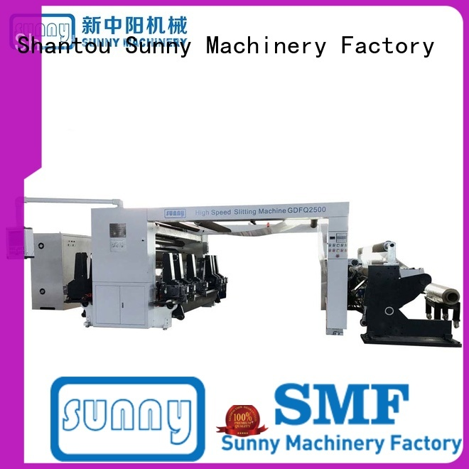 stations thermal paper slitting machine manufacturers high speed for production Sunny