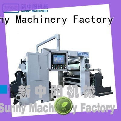 Sunny model slitting rewinding machine supplier at discount