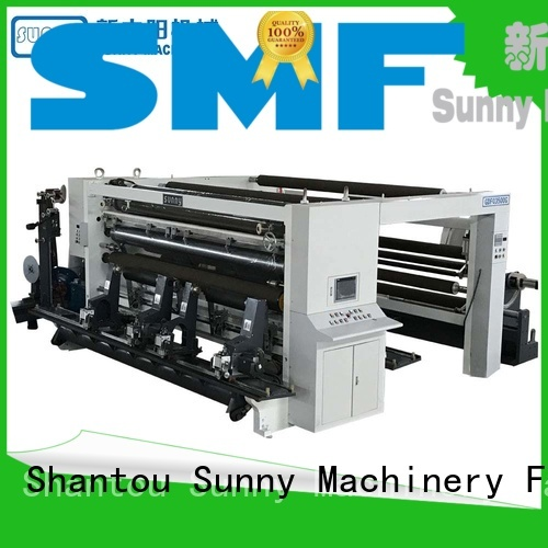 Sunny horizontal slitting machines supplier bulk production