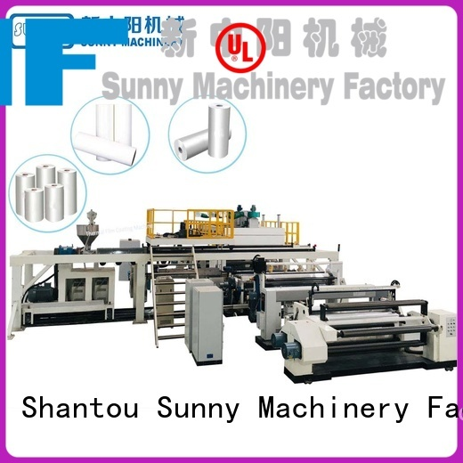 Sunny oven lamination coating machine manufacturer for production