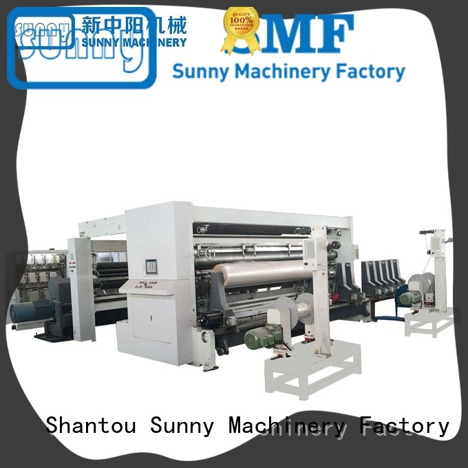 jumbo rewinder slitter machine model customized for factory