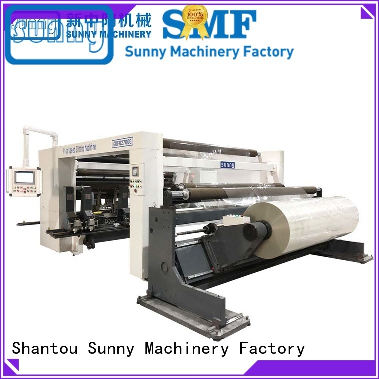 jumbo rewinding machinery roll wholesale for factory