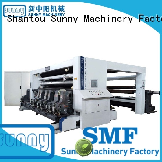 Sunny high speed rewinding machinery manufacturer for production
