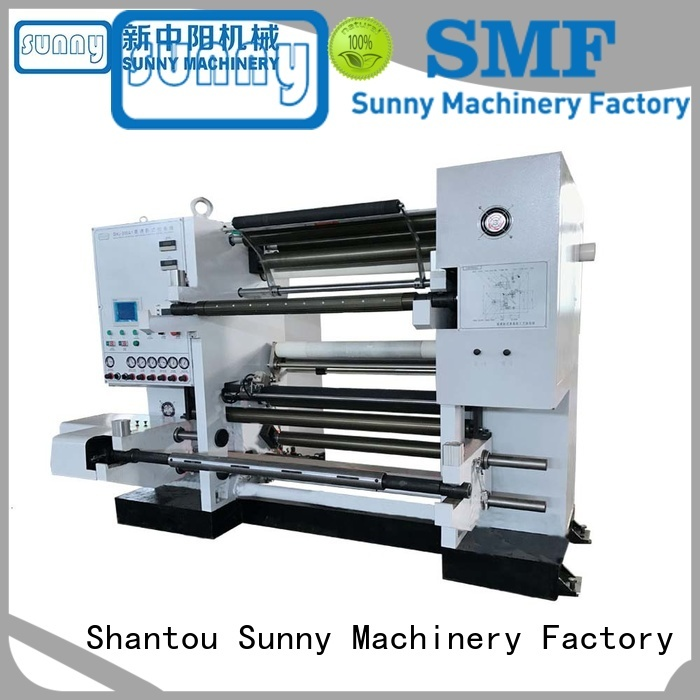 Sunny low cost rewind slitting machines supplier for production