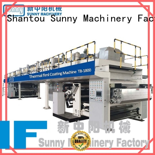 Sunny oven extrusion coating machine manufacturer for production
