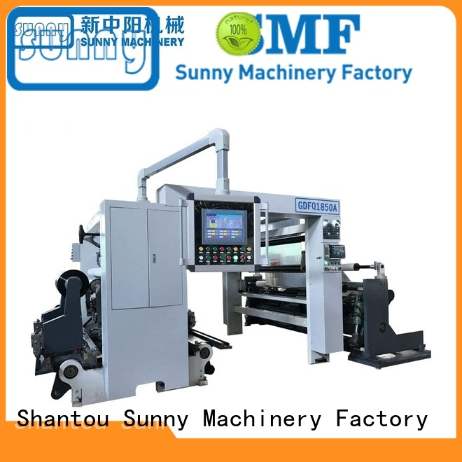 Sunny Sunny surface winding slitting machine roll at discount