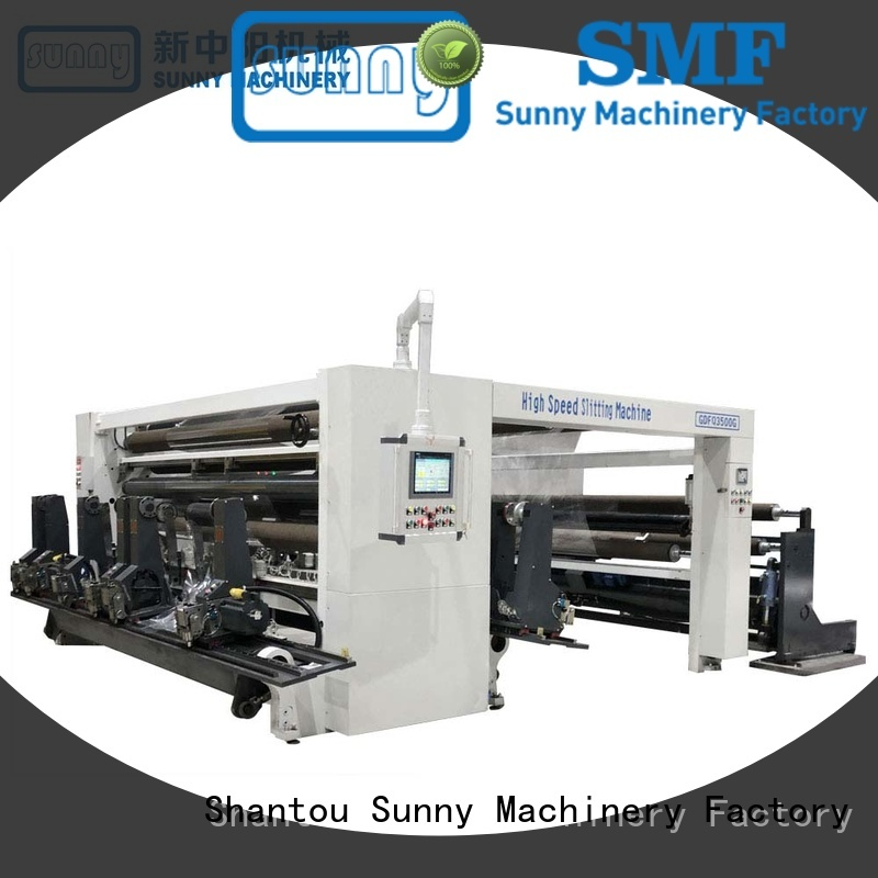 Sunny quality slitter rewinder machine wholesale for production