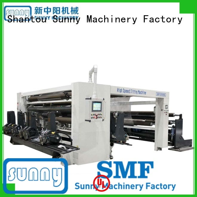Sunny high speed slitting machines supplier bulk production