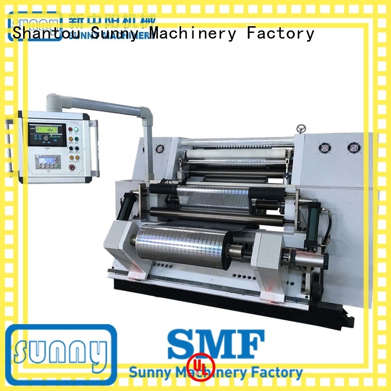 Sunny high quality center driven duplex slitter rewinder manufacturer for production