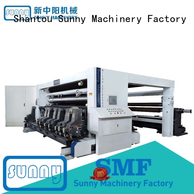 Sunny thermal slitting machines manufacturer for production