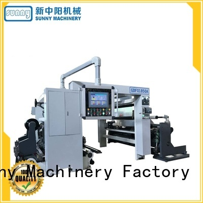 Sunny high speed slitting and rewinding machine supplier for factory