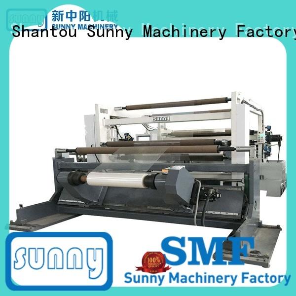 Sunny digital stretch film rewinder machine supplier for factory