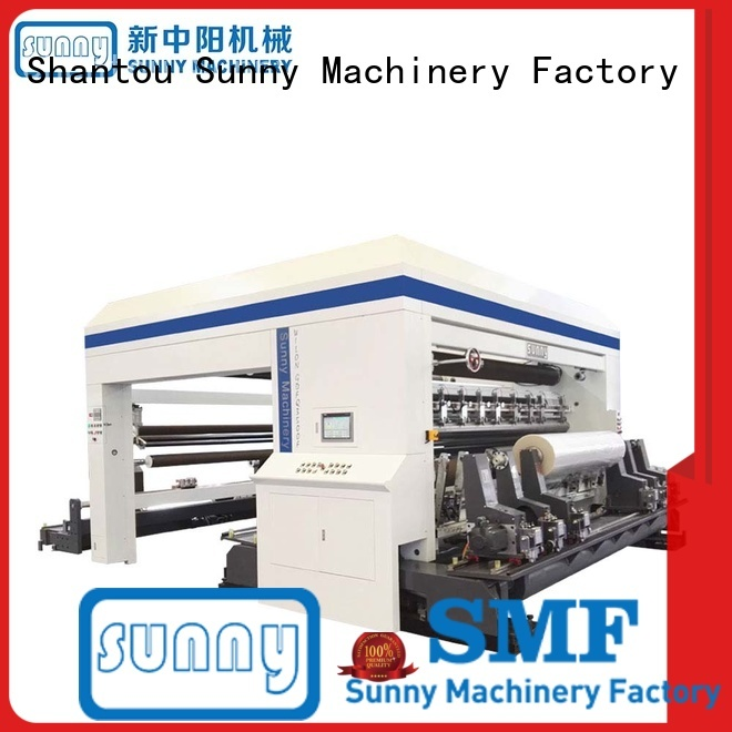 high speed slitting and rewinding machine line at discount Sunny