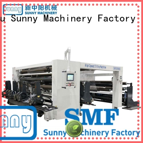 Sunny film slitting and rewinding machine supplier for industry