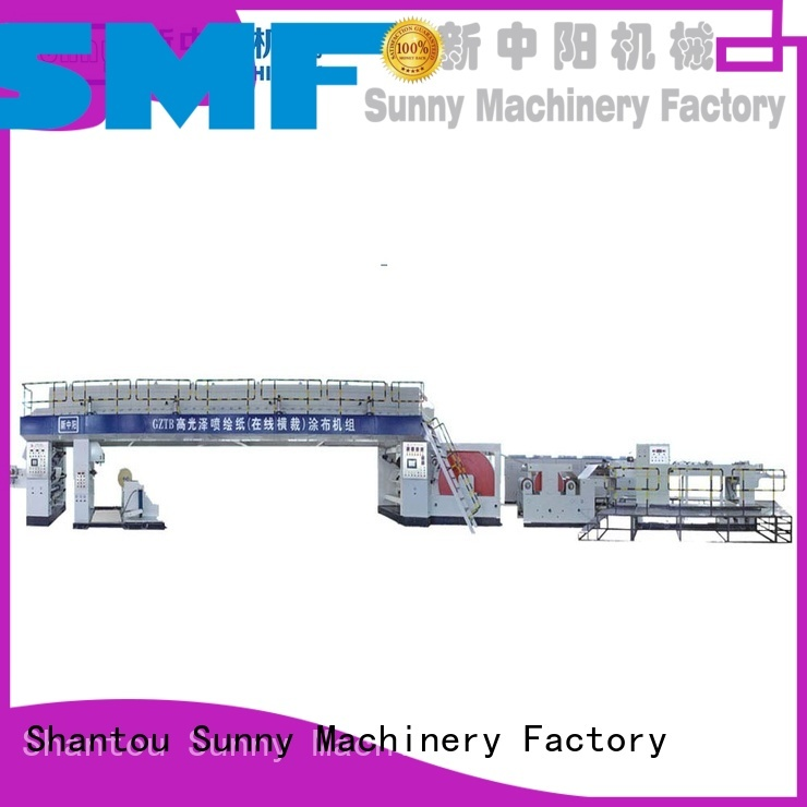 Sunny rewind dry laminating machine supplier for laminating
