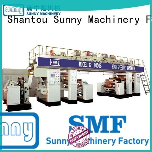 Sunny unwind extrusion coating lamination machine customized for protection film