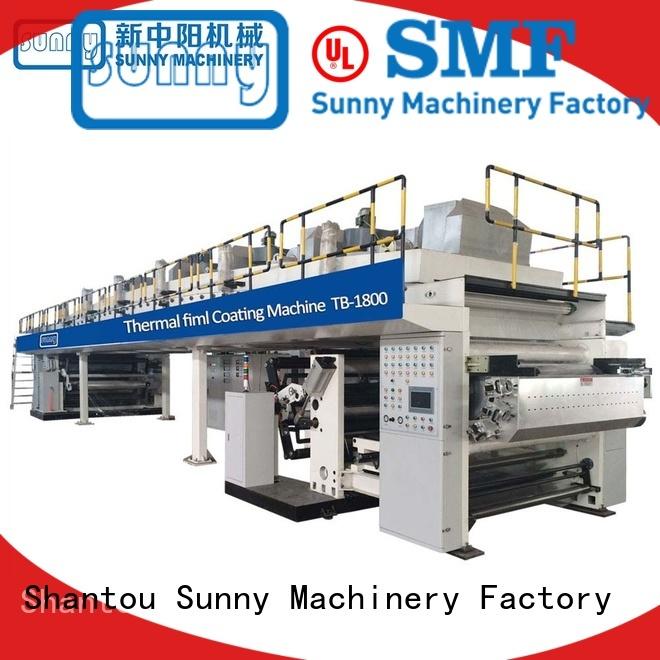 Sunny dual extrusion coating lamination customized for production