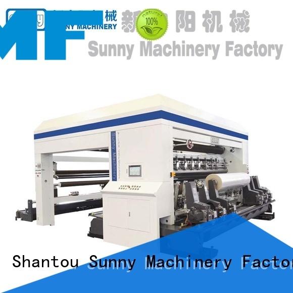 Sunny Sunny rewinder slitter machine customized bulk production