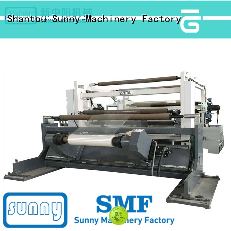 Sunny jumbo slitter rewinder machine thermal for factory
