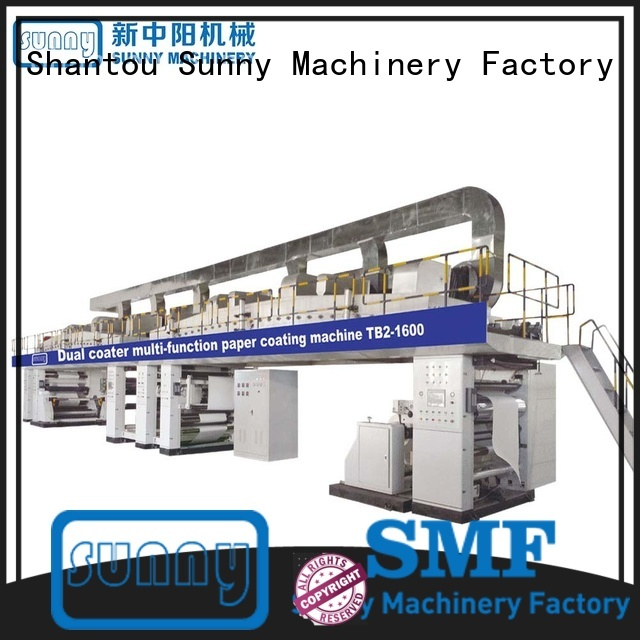 Sunny unwind extrusion coating lamination machine customized for laminating