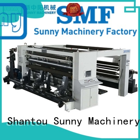 speed slitting rewinding machine supplier production