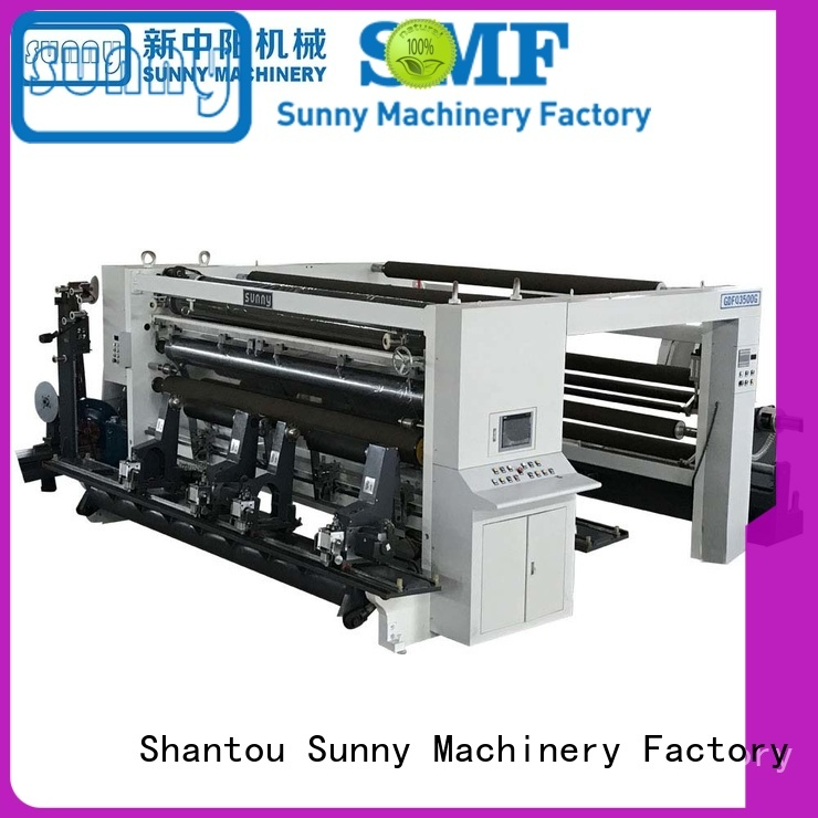 low cost slitting and rewinding machine supplier at discount