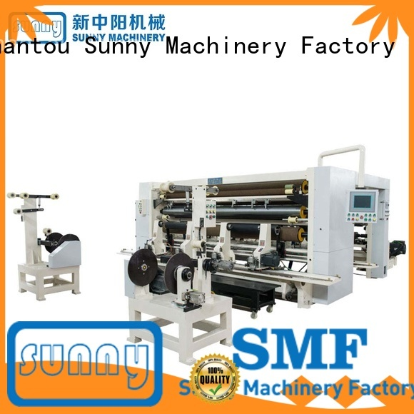 Sunny digital rewind slitting machines film bulk production