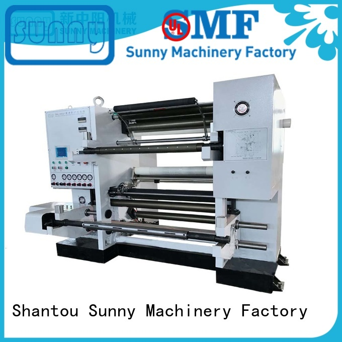 low cost slitting and rewinding machine high speed manufacturer for factory