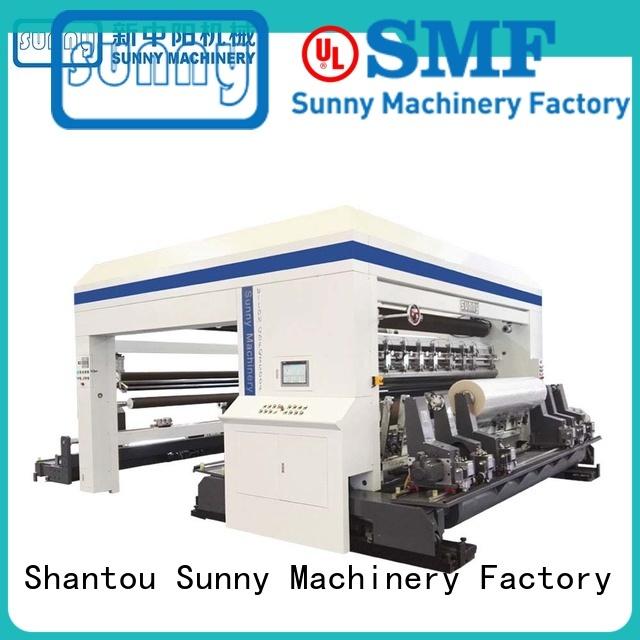 Sunny gantry rewinder slitter supplier bulk production