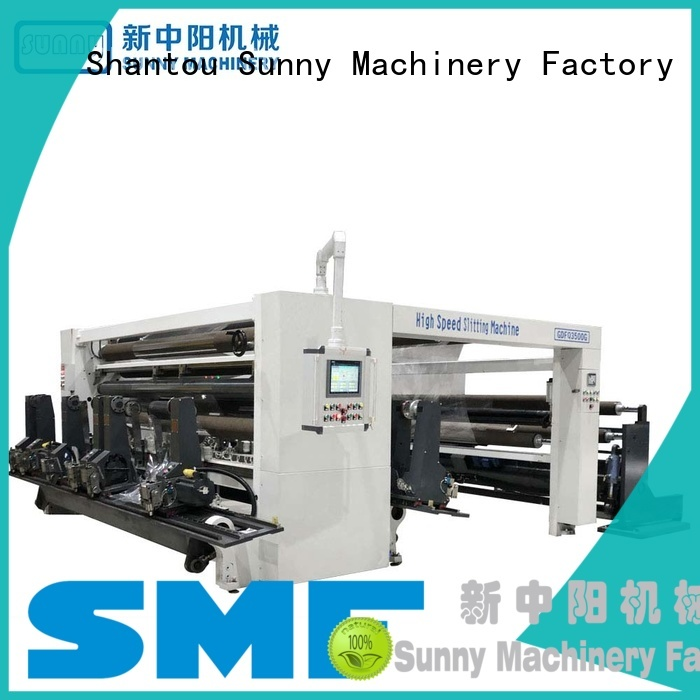 horizontal slitter rewinder machine film customized for sale