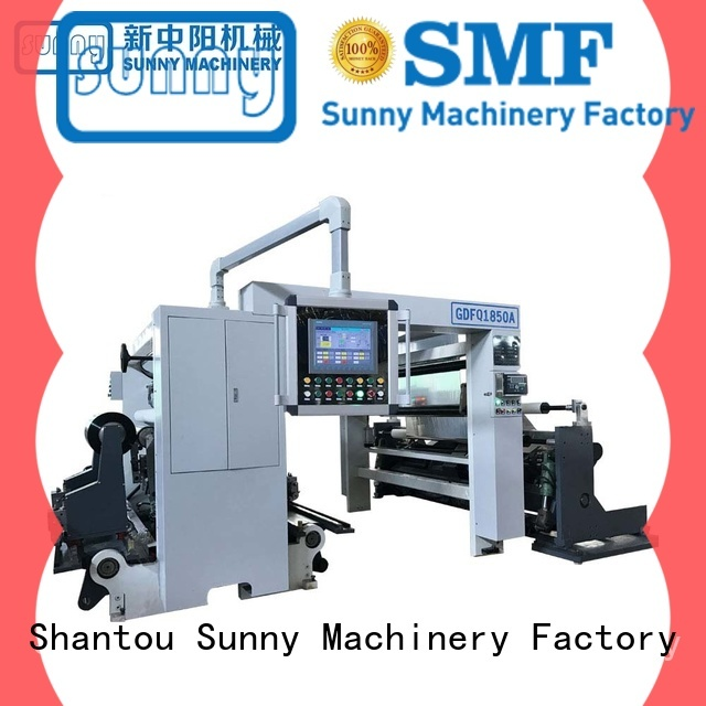 Sunny jumbo rewind slitting machines wholesale for production