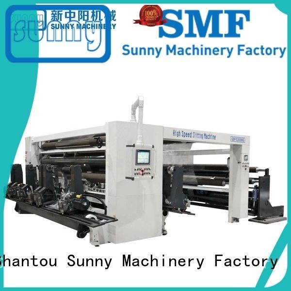 jumbo rewinding machinery stations customized bulk production