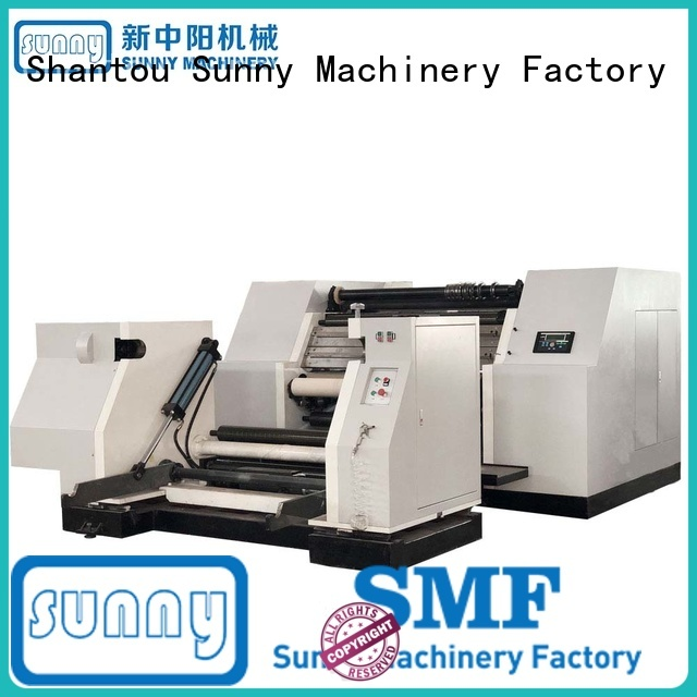 Sunny paper rewinder slitter machine customized for production