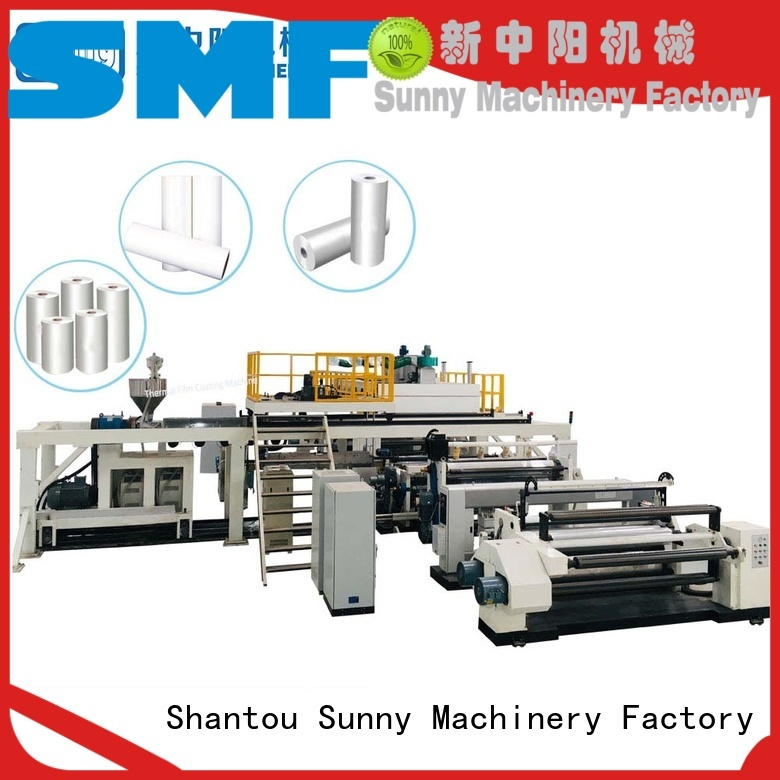 dual extrusion lamination plant single supplier for protection film