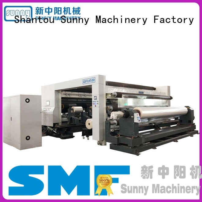 Sunny quality rewinder slitter machine manufacturer for factory