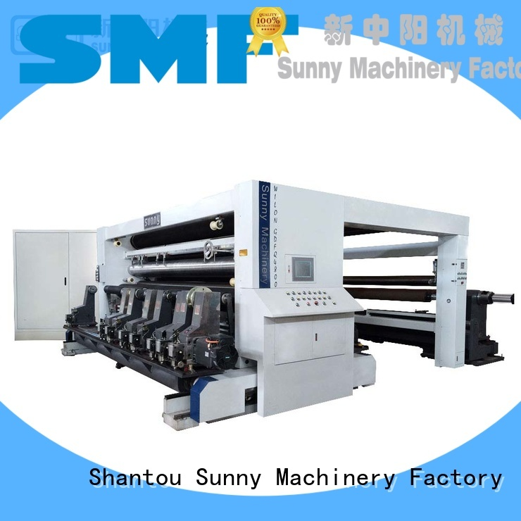 low cost rewind slitting machines gantry customized bulk production
