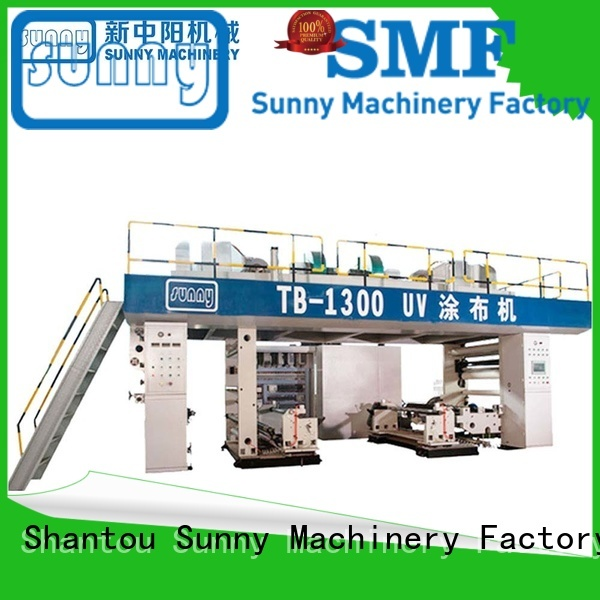 rewind extrusion coating machine 15m customized for protection film