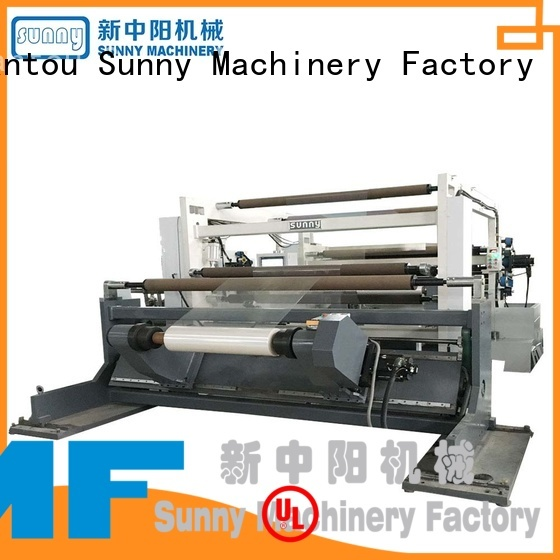 Sunny high quality slitting and rewinding machine wholesale for sale