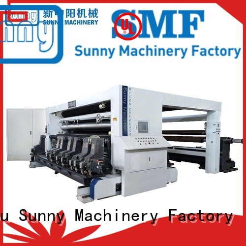 Sunny horizontal thermal paper slitting machine manufacturer for factory