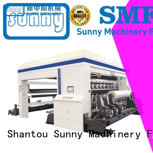 Sunny horizontal slitting rewinding machine customized for sale