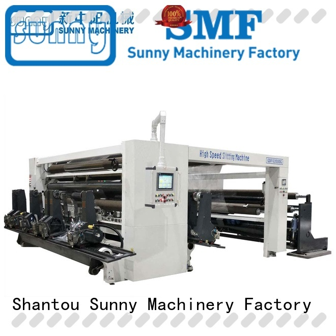 Sunny high quality rewinder slitter manufacturer for sale