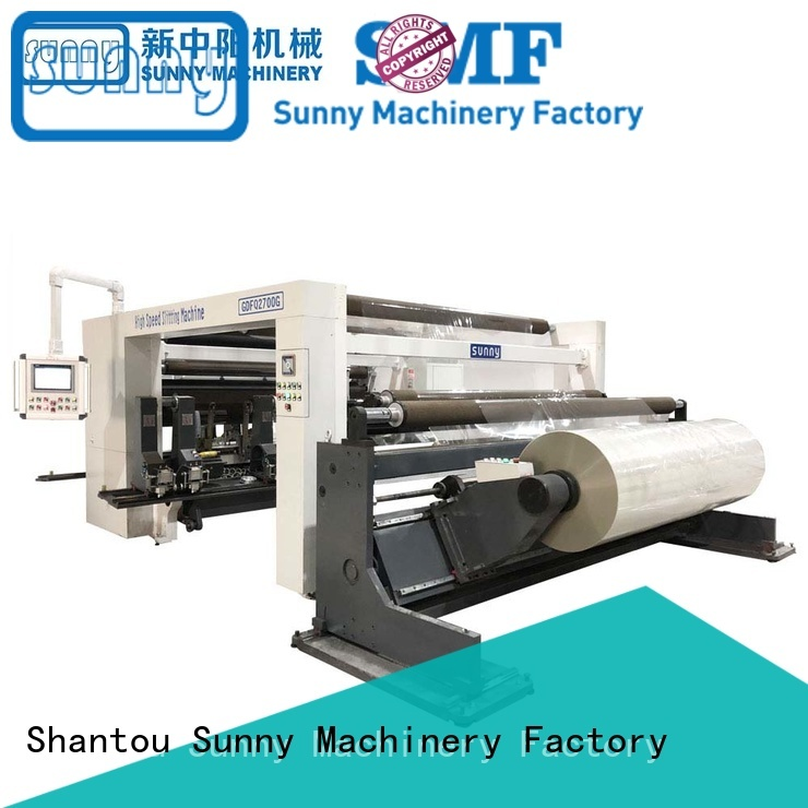 Sunny jumbo slitter rewinder customized for factory