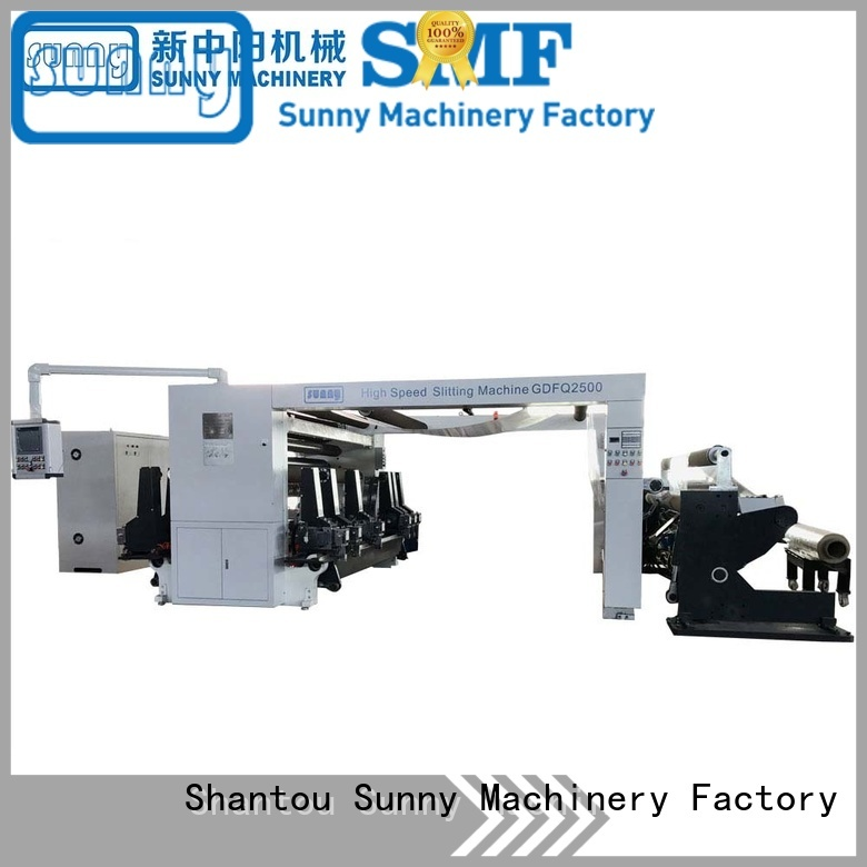 Sunny stations slitting and rewinding machine customized for sale