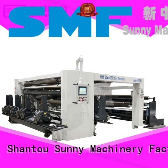 Sunny high speed rewinder slitter machine supplier for production