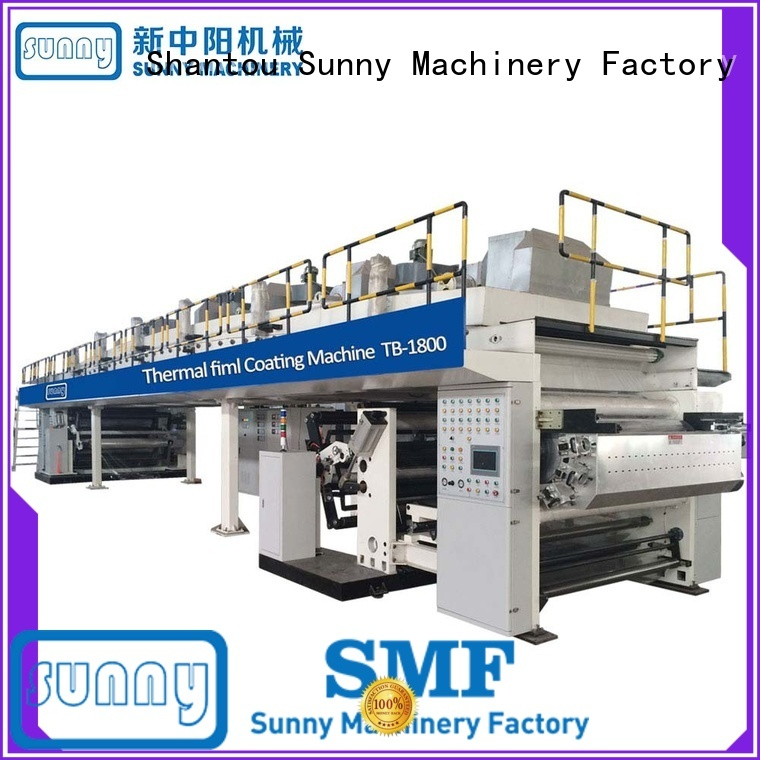 die paper pe coating machine wholesale for packaging Sunny
