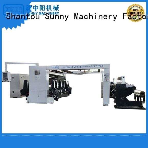 Sunny horizontal slitter rewinder manufacturer for production